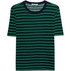 T by Alexander Wang Cropped T Shirt